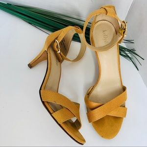 KELLY & KATIE-crisscross sandal with ankle strap.